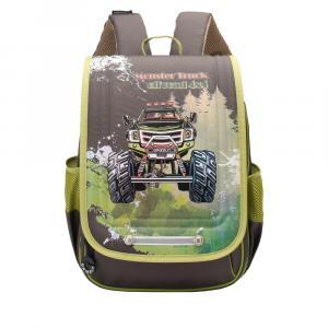 69edbf59cd06 Школьный рюкзак для мальчика GRIZZLY - RA-976-1 - Магазин ...