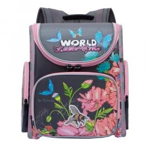 3045eb9b5424 Школьный рюкзак для девочки Grizzly - RA-871-7 - Магазин ...
