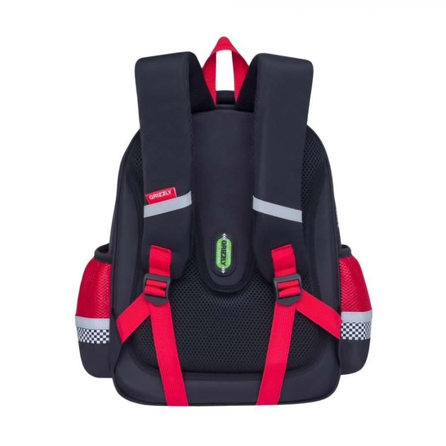 09f8263fd8e2 Школьный рюкзак для мальчика Grizzly - RA-878-6 - Магазин ...