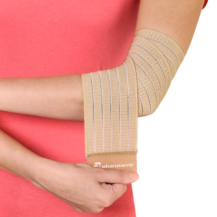 Эластичный бинт, закрепляющий сустав электрофорез суставов