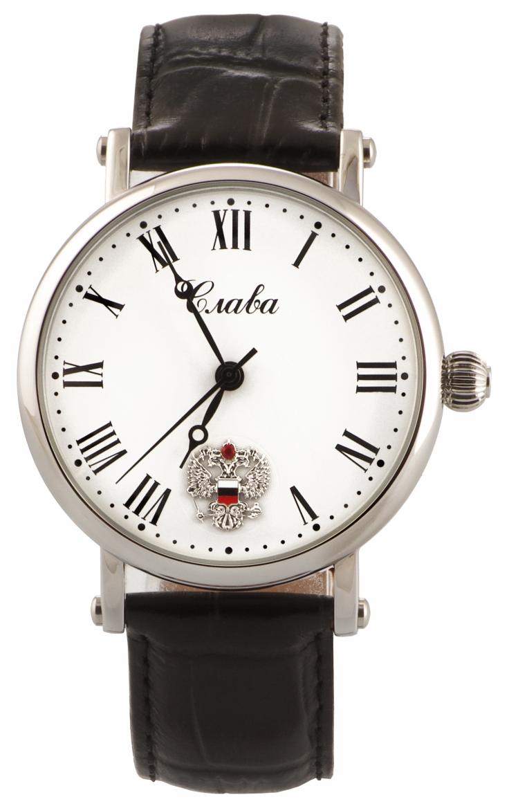 Заказать наручные часы с логотипом или символикой компании.